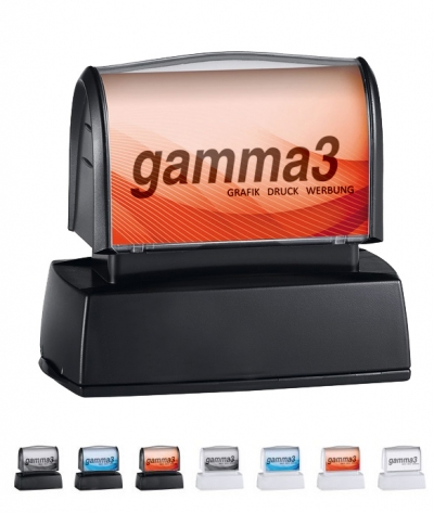 gamma3 - Flash-Stempel